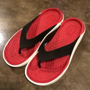 LiteRide Crocs Flip Flops